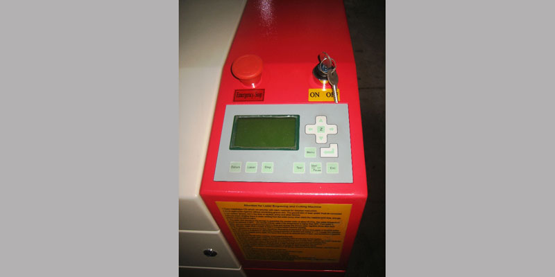 1600 Series Laser Control Panel
